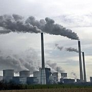 A large coal-fired power plant in Gelsenkirchen, Germany. Chancellor Angela Merkel is calling for action on climate change.