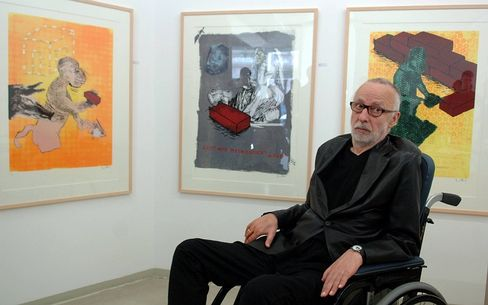 """Painter Jörg Immendorff """"helped to establish Germany's reputation as a country of high culture."""""""