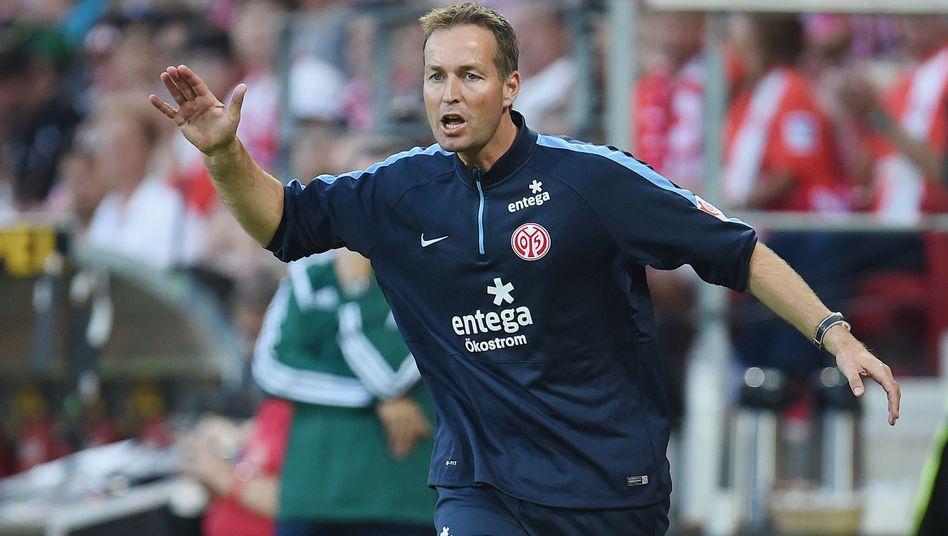 Mainz-Coach Hjulmand (Archivbild): Aus in der Europa-League-Qualifikation