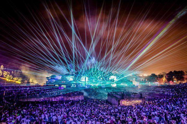 Ein Bild aus dem Jahr 2016 - das »Tomorrowland« ist eines der bekanntesten Festivals in Belgien