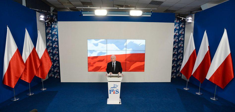 Jaroslaw Kaczynski is head of Poland's Law and Justice party.