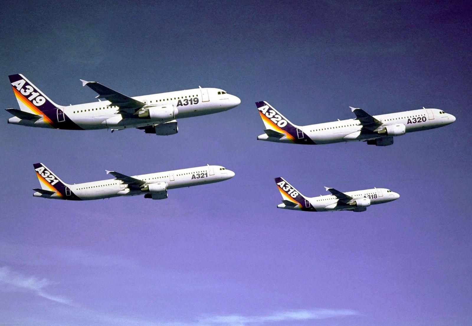 40 Jahre Airbus / Flugzeuge / A320