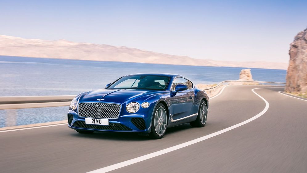 Bentley Continental GT: Die Schokoladenseite des Continental