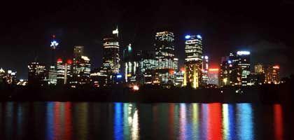 Skyline von Sydney: Leuchtendes Beispiel in Sachen Klimaschutz?