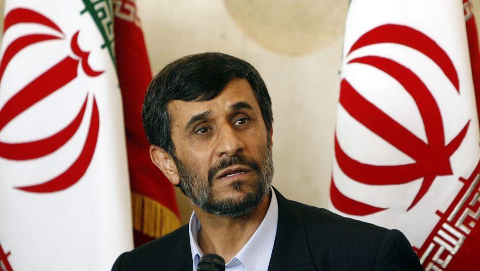 Irans Präsident Ahmadinedschad: Hat Uran-Anreicherung angeordnet