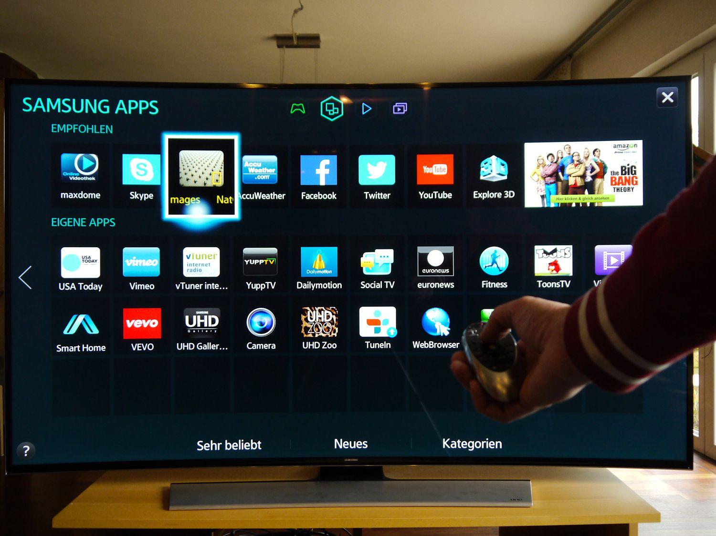 Samsung 8590 Curved TV