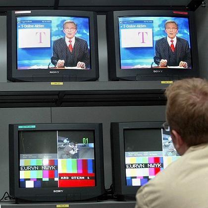 """Produktionsraum der """"Tagesschau"""" (Archivbild): Verfassungsrichter stärken ARD und ZDF"""