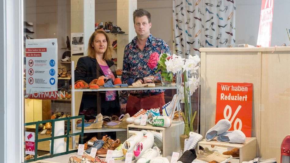 Schuhhändler-Ehepaar Hoffmann in Lübeck