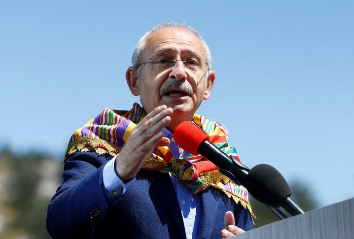 Oppositionsführer Kemal Kilicdaroglu
