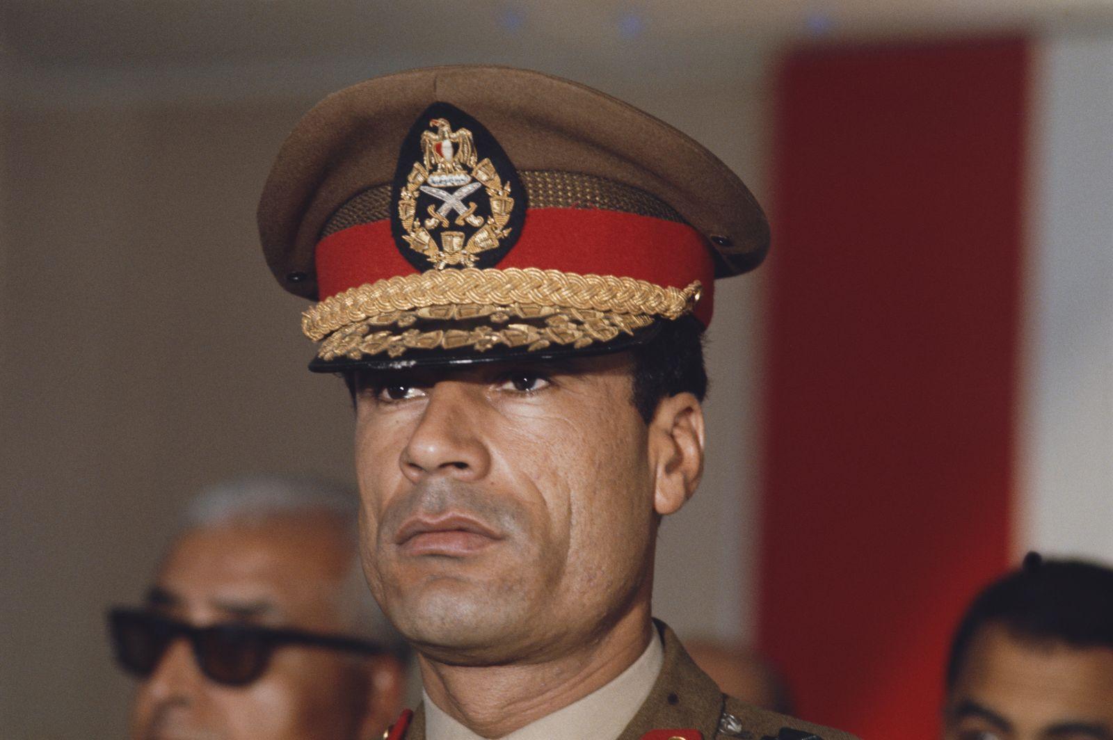 Colonel Gaddafi In Egypt