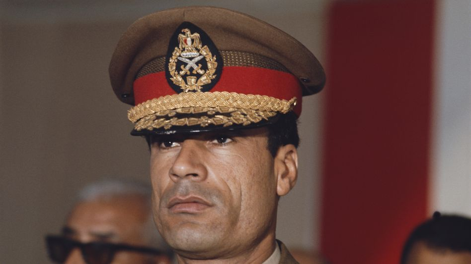 Gaddafi 1970
