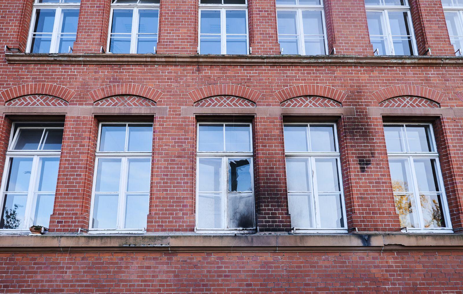 Brandsätze gegen Gebäude des Robert Koch-Instituts
