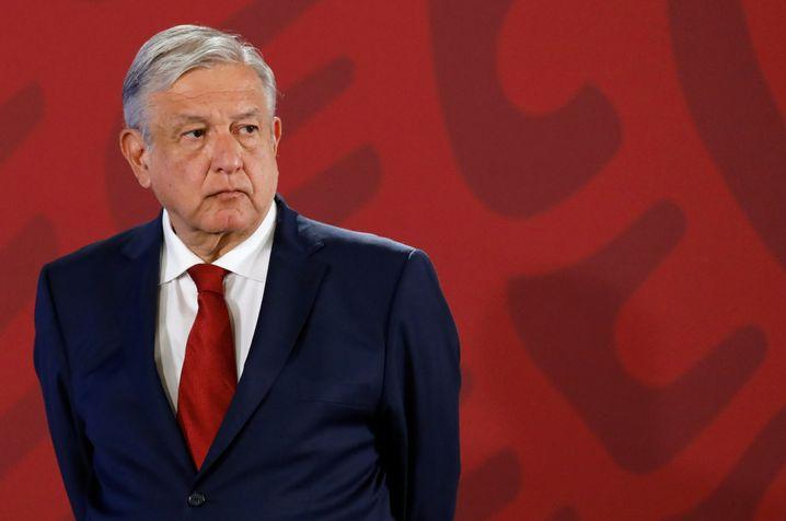 Präsident Obrador: Viel versprochen, aber kaum was umgesetzt