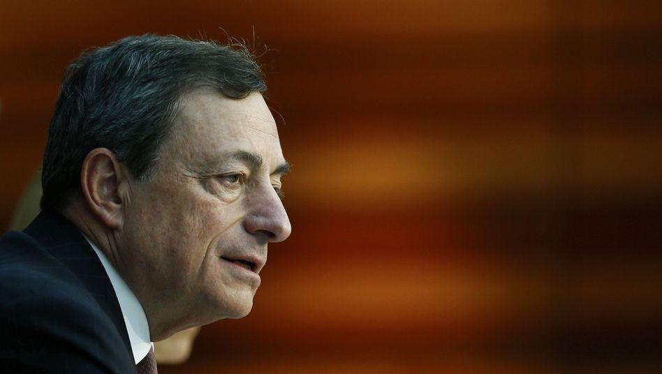 EZB-Präsident Draghi: Angst vor einer Deflation