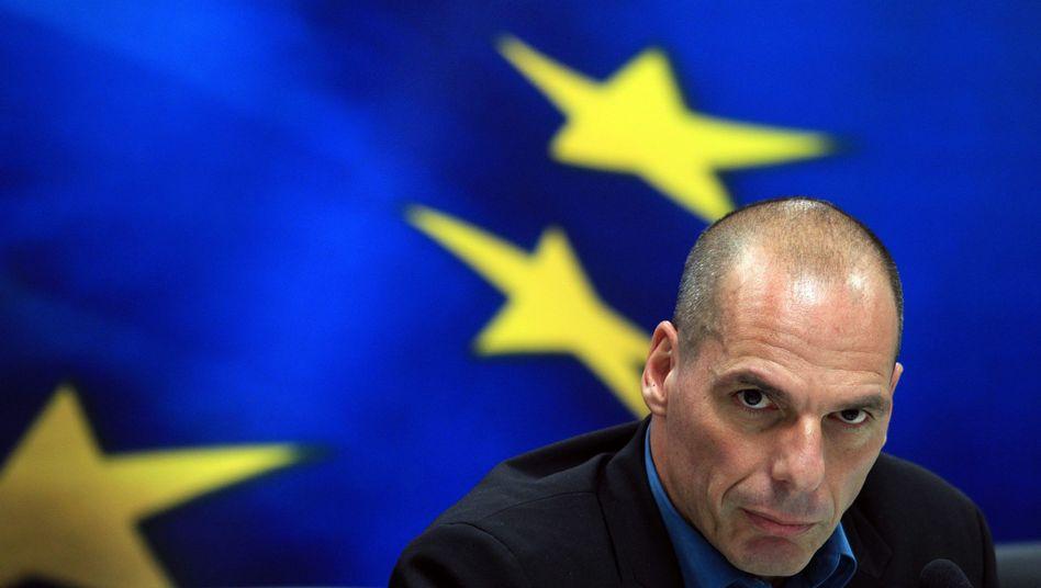 Neuer griechischer Finanzminister Varoufakis: Problem sind kurzlaufende Staatsanleihen