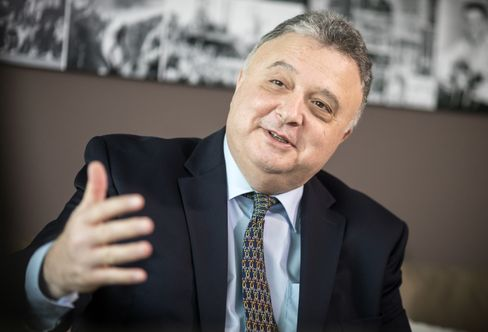 """The Israeli ambassador to Germany, Jeremy Issacharoff, in Berlin: """"The fact that moderate Arab countries are now working with Israel is one of the greatest chances that we can move forward on the Israel-Palestinian track."""""""