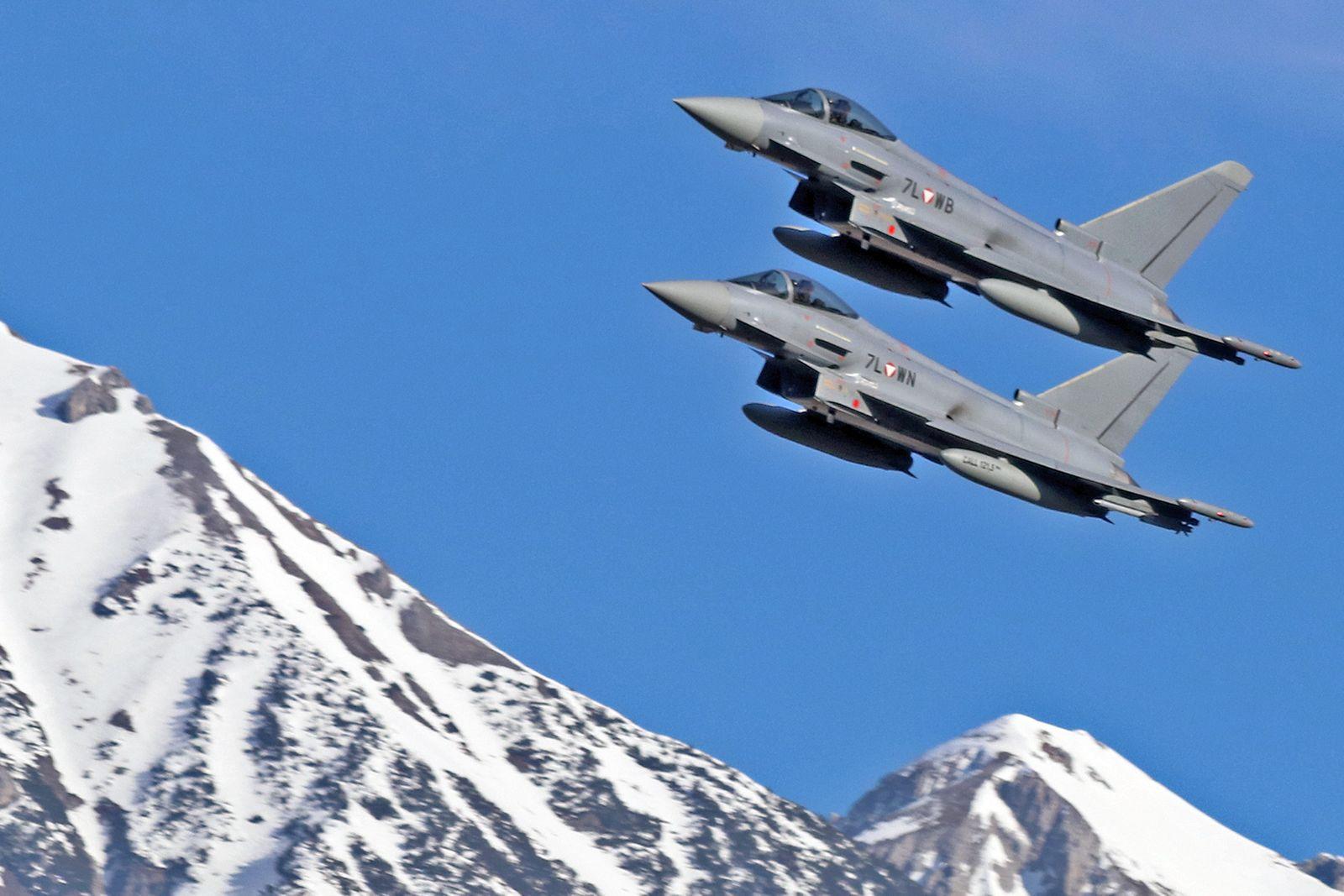 Eurofighter bei Innsbruck