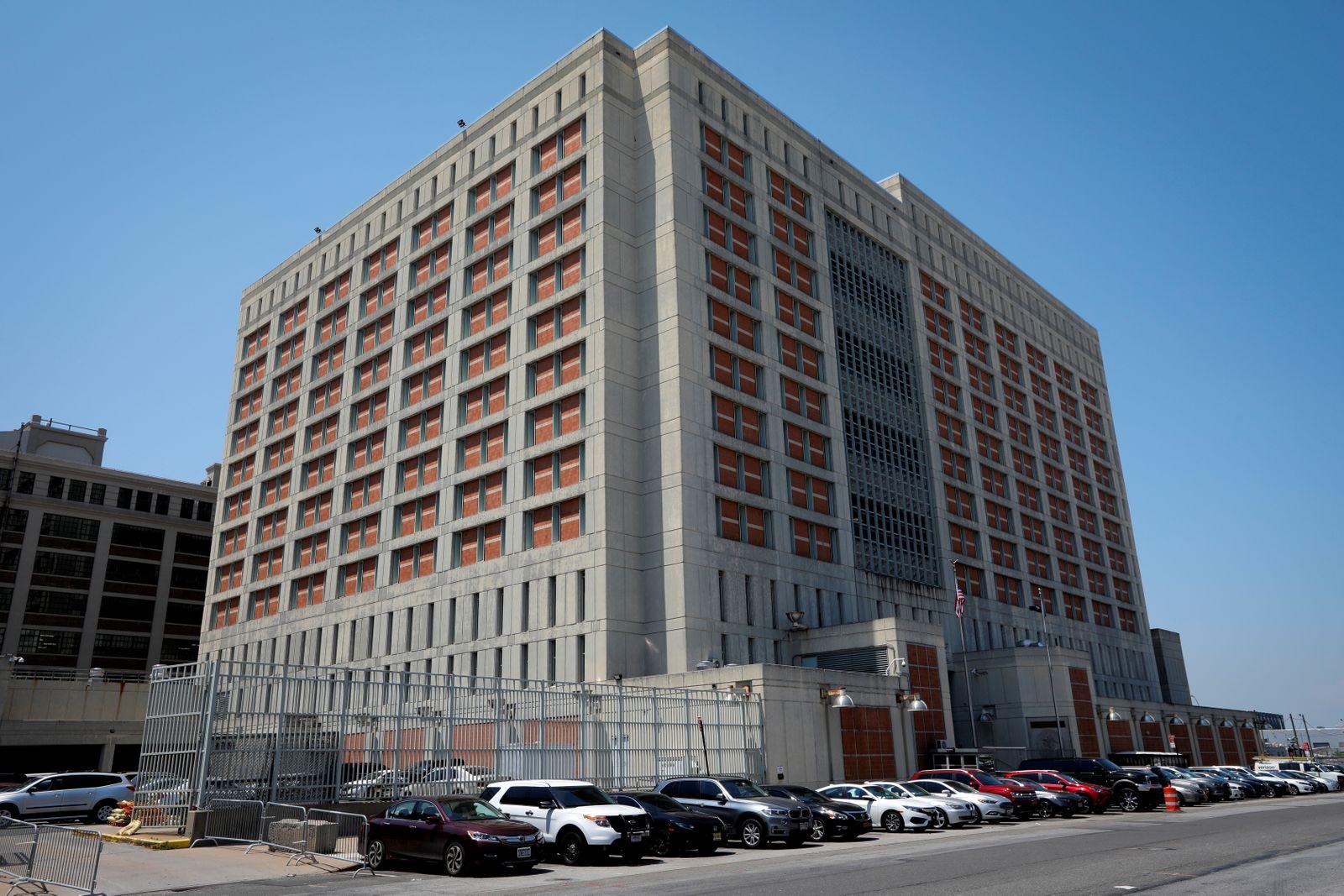 Metropolitan Detention Center where Ghislaine Maxwell is being held in Brooklyn New York