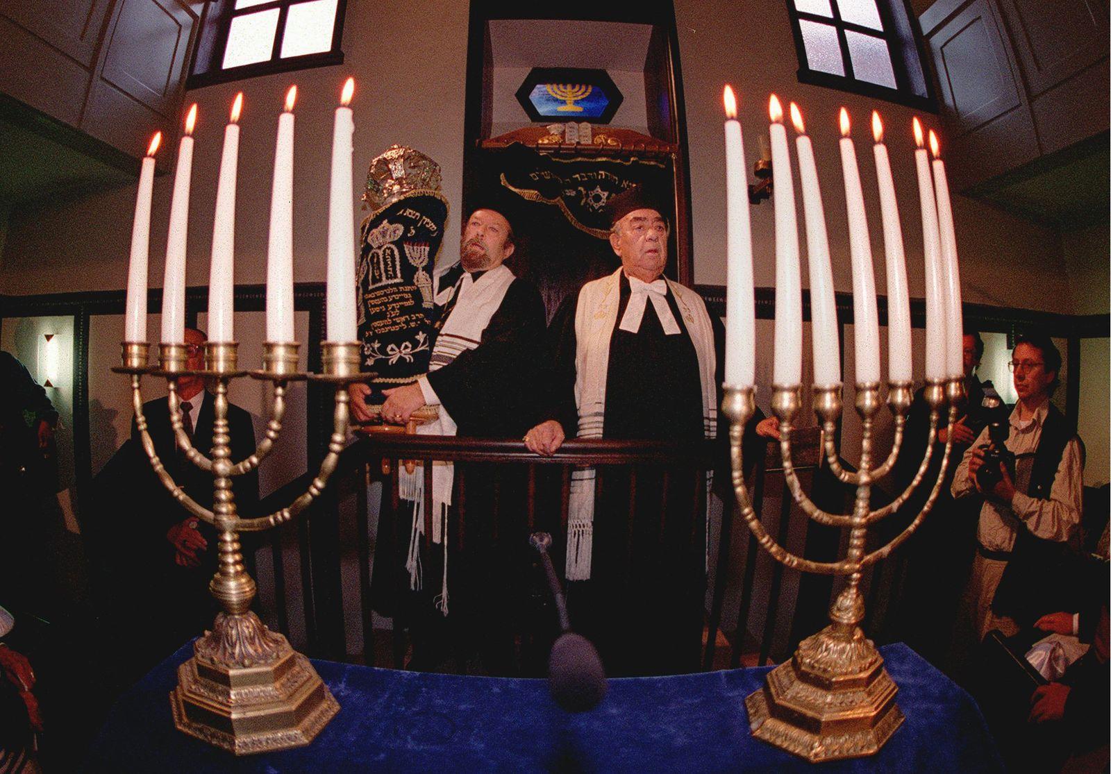 Einweihung Synagoge Giessen