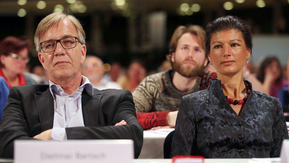 Linke-Politiker Bartsch, Wagenknecht: Doppelspitze für die Fraktion