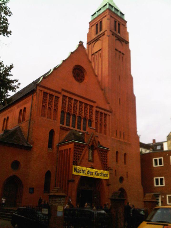 Bonifatius-Kirche in Hamburg: Immer gut besucht