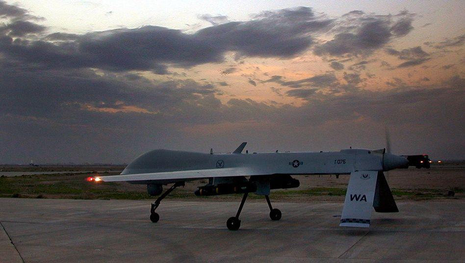 Predator-Drohne des US-Militärs: kontroverse Diskussion