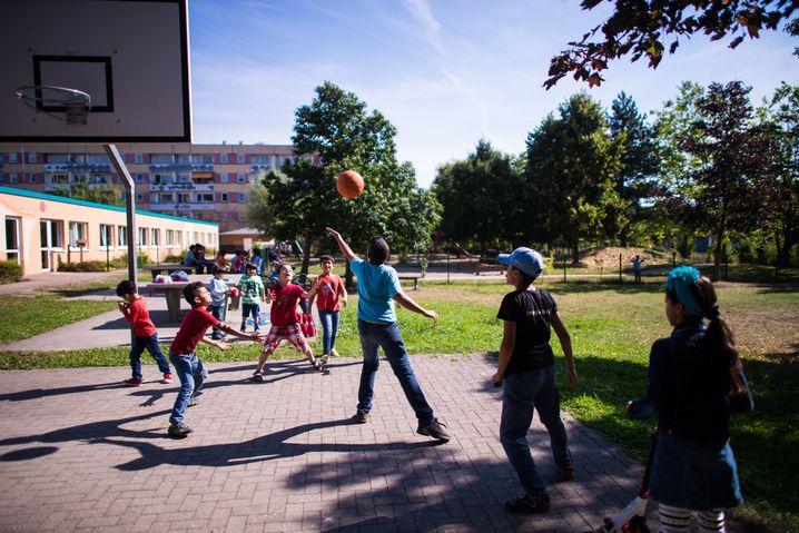 Syrische Flüchtlingskinder auf dem Dreesch in Schwerin: Begeistert von Deutschland
