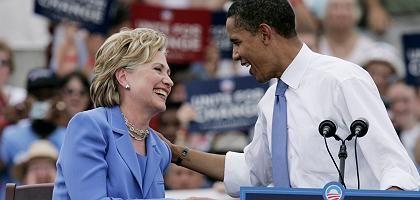 Clinton, Obama: Gemeinsam in der künftigen Regierung