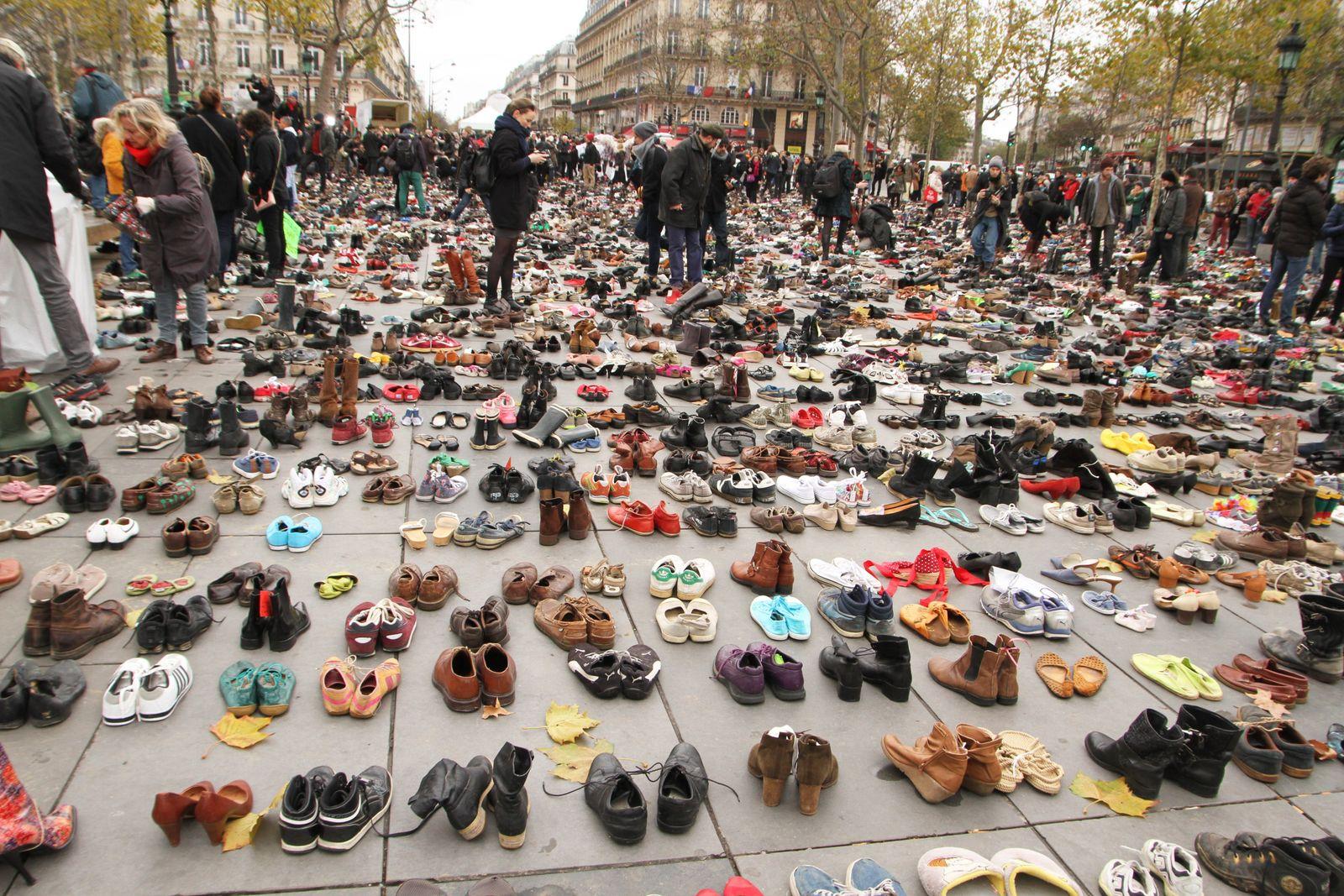 COP21 protest in Paris
