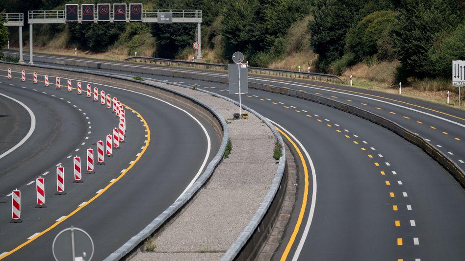 Autobahn A2 bei Hannover (Archiv)