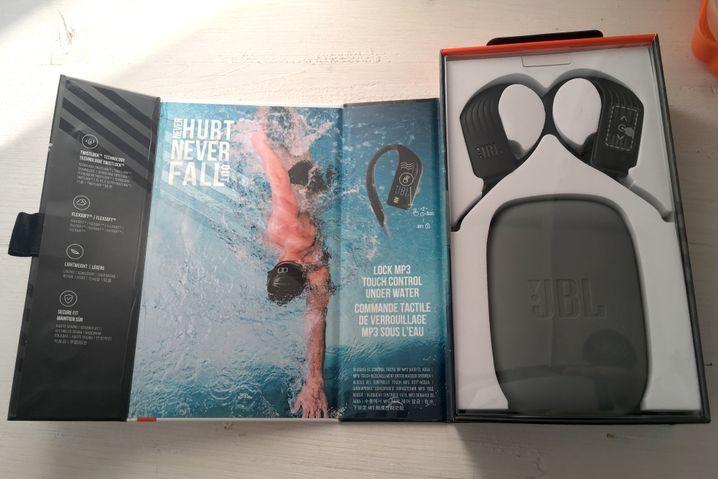 JBL Endurance Dive - ausgepackt