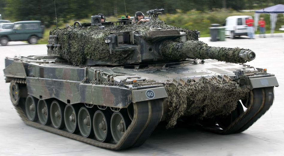 Leopard-Panzer (Archiv)