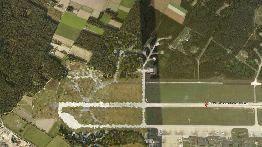 Verpixelte Satellitenbilder: Verborgene Orte auf Google Earth