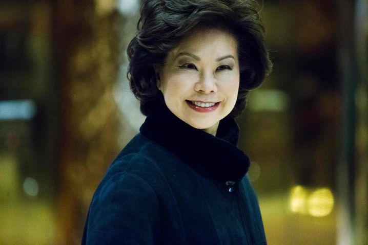 Verkehrsministerin: Elaine Chao