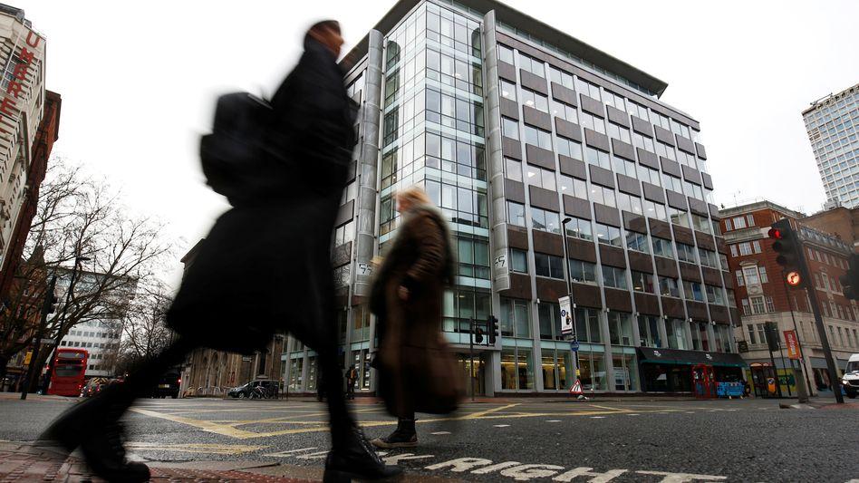 Sitz von Cambridge Analytica in London