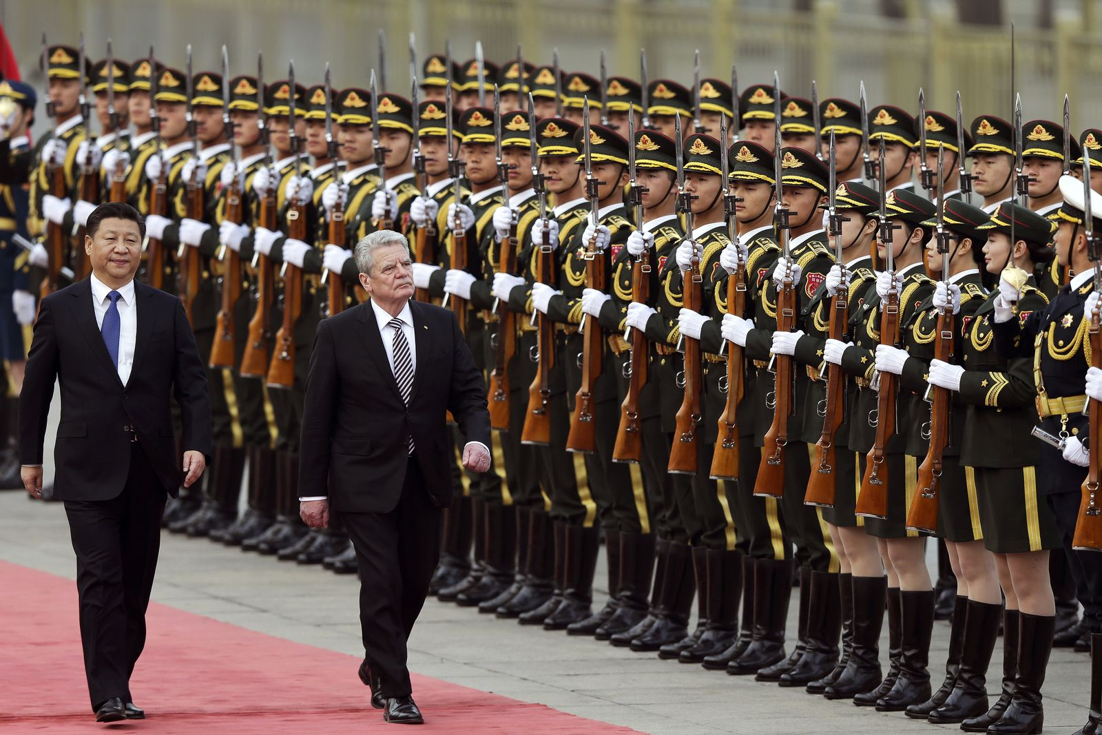 Gauck / China