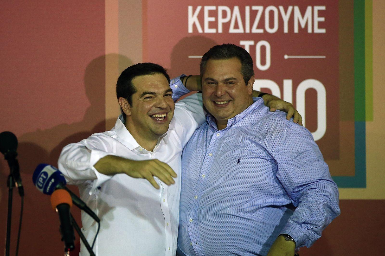 Alexis Tsipras / Panos Kammenos