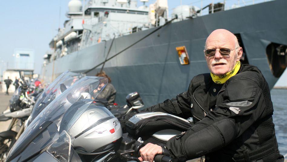 """Motorradfahrer Struck (2008): """"Ich kenne nichts Entspannenderes"""""""