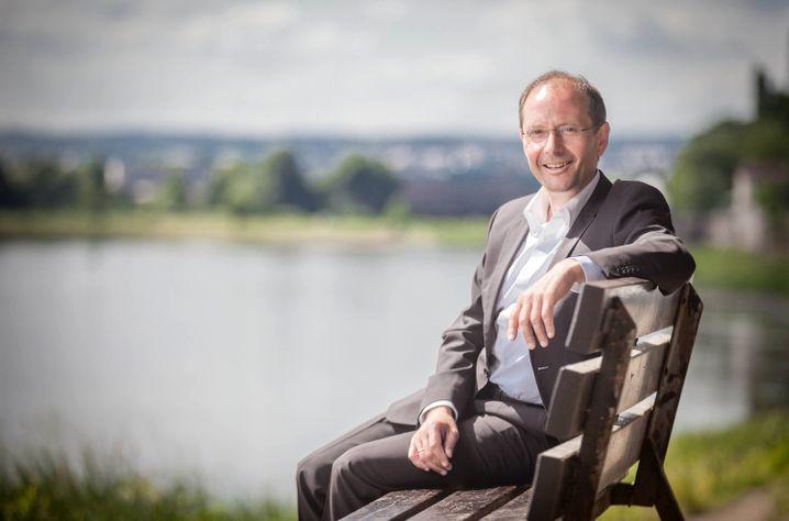 OB-Kandidat Ulbig: Der nette Minister aus Pirna