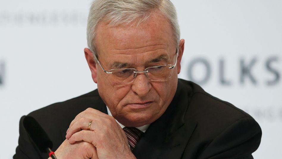 Ex-VW-Chef Martin Winterkorn: Bis Ende 2016 unter Vertrag