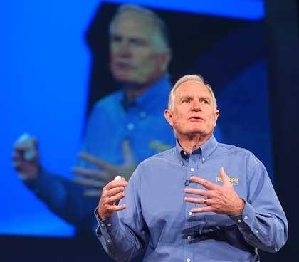 """Intel-Chef Craig Barrett: """"Gute"""" Nachrichten, miese Laune"""