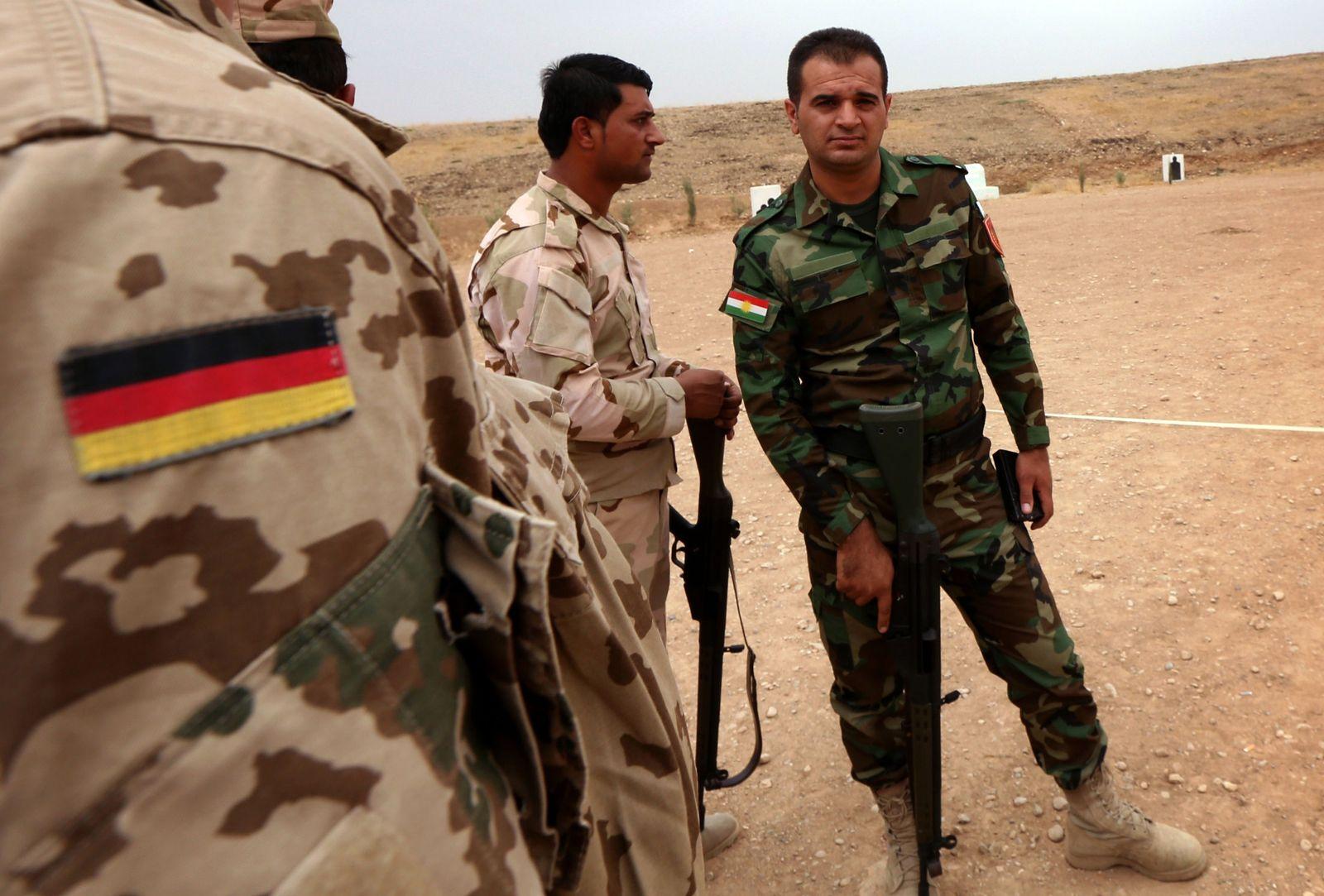 Irak/ bundeswehr/ Peschmerga