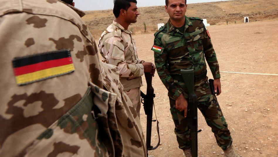 Bundeswehrsoldat bei kurdischen Peschmerga: Kampf gegen IS-Dschihadisten