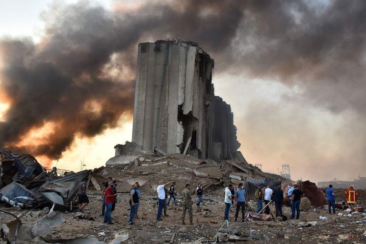 Zerstörter Silo im Hafen: Sightseeing auf Beiruts Ground Zero