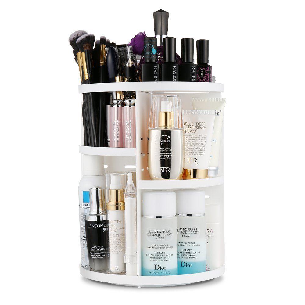 Shoppinglist_Ordnung Bad_Makeuporganizer drehbar