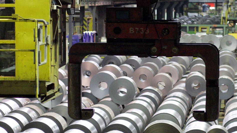 Stahl made in Germany: Viele Ausfuhren, wenige Investitionen