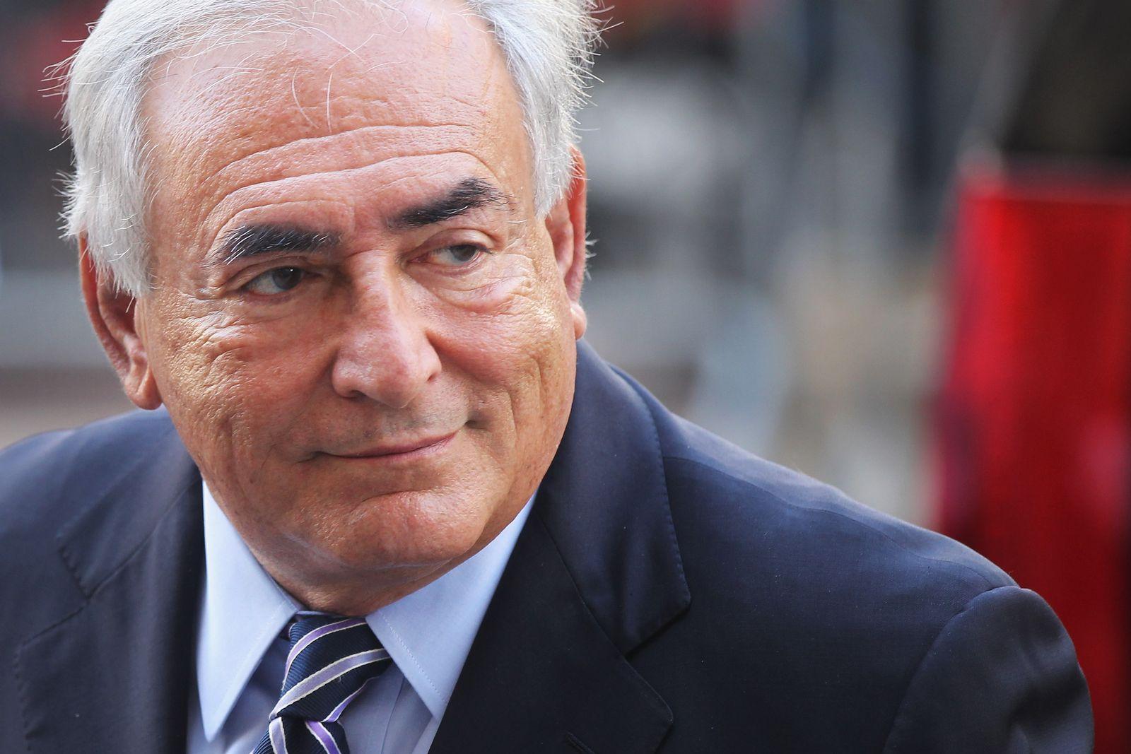 Dominik Strauss-Kahn/ Vor Gerichtsverhandlung