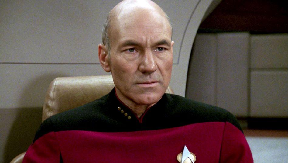 """Kapitän Jean-Luc Picard in der Serie """"Star Trek: The Next Generation"""""""