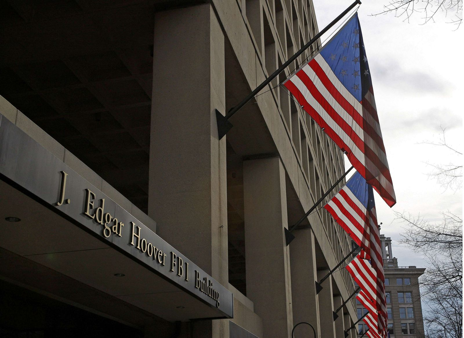 USA-FBI/BUILDING