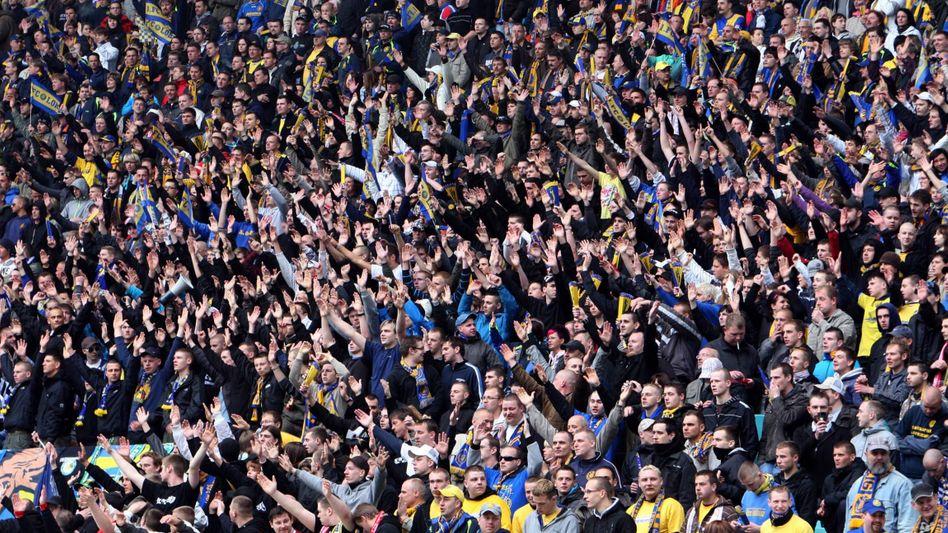 Fans von Lok Leipzig (Archivbild)